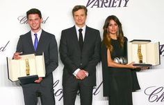 Colin Firth awards Jeremy Irvine... http://britsunited.blogspot.com/2013/05/colin-firth-awards-jeremy-irvine-with.html