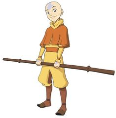 Avatar the Last Airbender: Aang's Staff/Glider Avatar Airbender, Avatar Aang, Aang The Last Airbender, Team Avatar, Avatar Halloween Costume, Avatar Costumes, Avatar Cosplay, Naruto Sketch Drawing, Avatar Picture