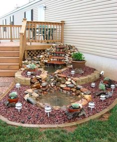 15 Pleasing and Attractive DIY Backyard Ideas to Remodel Your Backyard and Keep It 'Party Ready' Always There are whole lot of ways to adorn and deck up your backyard. Check out some of the most interesting DIY Backyard ideas right here. Garden Yard Ideas, Garden Projects, Tire Garden, Gnome Garden, Terrace Garden, Diy Garden Ideas On A Budget, Broken Pot Garden, Bird Bath Garden, Fairy Garden Houses