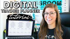 Digital Teacher Planner Tutorial | Google Slides Version Future Videos, Teacher Planner, Pocketful Of Primary, Digital, Youtube, Store, Google, Storage, Shop