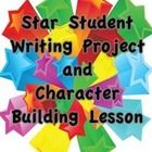 This is a great way to get kids writing and thinking about each others positive character attributes. When Student A is student of the week, pass out a sheet with Student A's name on it for everyone (including you) to write about him/her. Repeat for each student in the class. By the end of the year, you will have a completed book of positive messages from classmates that they can take home on the last day. There is also an introductory lesson suggestion included. $