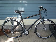 hybrid bicycle w/ fenders