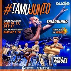Audio Club | Temporada de Verão com Thiaguinho e Turma do Pagode Informações no Link: http://www.baladassp.com.br/balada-sp-evento/Audio-Club/723 WhatsApp: 11 95167-4133