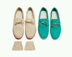 Love mint color shoes