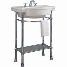 "American Standard 0282.008 Retrospect 27"" Fireclay Pedestal Sink Only - Less Ped White Fixture Pedestal Sink Vitreous China"