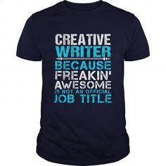 CREATIVE-WRITER #fashion #style. I WANT THIS => https://www.sunfrog.com/LifeStyle/CREATIVE-WRITER-111257896-Navy-Blue-Guys.html?60505