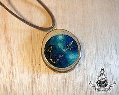 constellation necklace (Pisces), Star Necklace, Zodiac Jewelry, Space Jewelry…