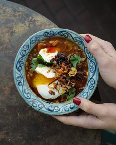 Chili, Soups, Food And Drink, Veggies, Cooking Recipes, Eat, Drinks, Ethnic Recipes, Table