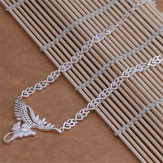 AN067 Hot wholesale silver plated Necklace,free shipping silver fashion jewelry pendant The bright small animals /aslajjsa