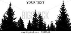 Image result for tree silhouette drawing