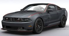 "Jack Roush of Roush Performance in collaboration with Carroll Shelby has announced that they will develop a Ford Mustang SR-71 which is inspired by the USAF aircraft SR-71 ""Blackbird"". The SR-71 Ford Mustang (S for Shelby, R for Roush) is being built by all the people involve at ROUSH facility In Livonia, Michigan."