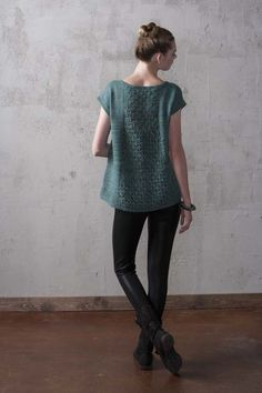 Trapezoid Tee - Knitting Daily