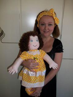 Vendita bambole di stoffa, vendita bambole di pezza, Dal Baule della Nonna, Rossella Usai