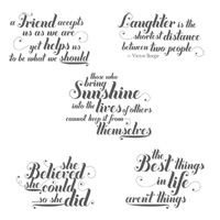 Feel Goods Clear-Mount Stamp Set - by Stampin' Up!