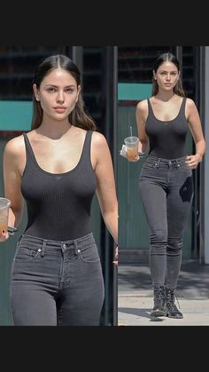 Sexy Outfits, Cute Outfits, Fashion Outfits, Curvy Girl Outfits, Style Fashion, Eiza Gonzalez, Hai, Girls Jeans, Grunge