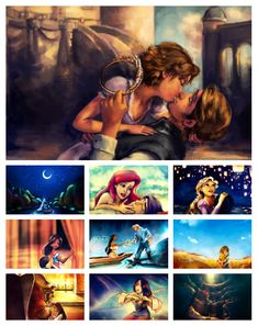 Beautiful Disney Art