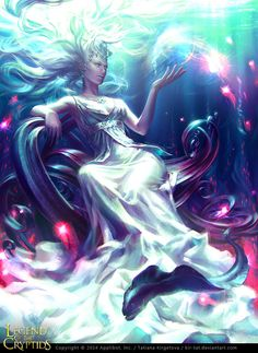 ArtStation - Legend of the Cryptids - Arianrhod 1&2, Tatiana Kirgetova