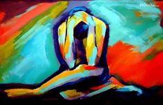 Acrylic paintings by artist Helen Wierzbicki