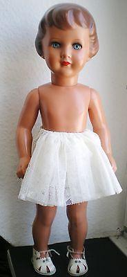 7 of 12: Wunderschöne alte Schildkröt Karin Puppe mit Original Kleidung, old german doll