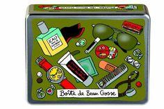 Boîte de Beau gosse - Vert - Derrière la Porte - DLP - Décoration pratique et boite de rangement/Boîte métal derrière la porte - espritlogis...