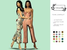 Pure Jumpsuit for The Sims 4