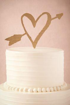 Lovestruck Cake Topper