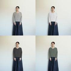 【型紙・作り方】シンプルな長袖ブラウス - ハンドメイド洋裁ブログ yanのてづくり手帖-簡単大人服・子供服・小物の無料型紙と作り方- Waist Skirt, High Waisted Skirt, Sewing, Skirts, Fashion, Needlework, Handarbeit, Moda, Fashion Styles
