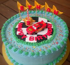Lighting McQueen Birthday Cake by pike.corinne, via Flickr