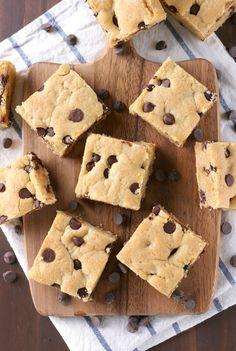 Grandmas Chocolate Chip Bars Recipe from A Kitchen Addiction