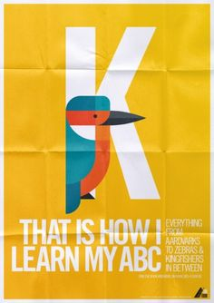 animal alphabet, a sneak preview on the behance network