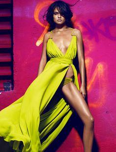Plein Sud Spring/Summer 2013| Daniela Braga by Greg Kadel