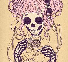Dia de los muertos lolita