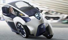 Toyota i-ROAD electric concept Geneva motor show