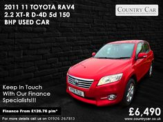 Used Toyota cars in Warwick from Country Car Toyota Rav, Toyota Dealers, Used Toyota, Car Lights, Rav4, Supercar, Car Ins, Used Cars, Cars For Sale