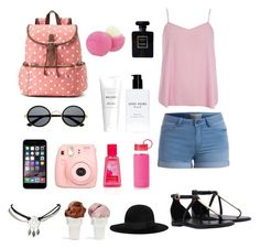 """""""Tourisme & visite ♡"""" by milafashion-35 ❤ liked on Polyvore featuring Candie's, Dorothy Perkins, Pieces, Polaroid, Eos, Bobbi Brown Cosmetics, Kate Spade, Yves Saint Laurent, Wet Seal and Sin"""