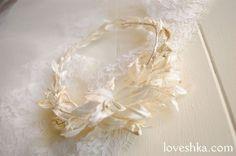 ヘッドリース / アンティーク / ウェディング / 結婚式 / wedding / オリジナルウェディング / プティラブーシュカ / トキメクウェディング