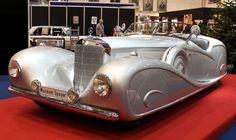 1936 Mercedes-Benz 500K Streamline-Roadster.Car body Erdmann & Rossi.