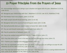 Did Jesus pray? Yes  Yes! Yes!! Although we are not given