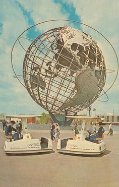 Unisphere - New York World's Fair 1964...went there with my family when I was nine and living in Philly.