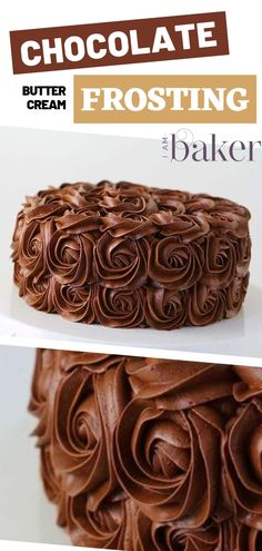 Is there anything better than light fluffy and rich Chocolate Buttercream Frosting This Whipped Chocolate Buttercream is a baker s dream Perfect for decorating it is smooth creamy and pipes beautifully Best for your cupcakes and cakes Chocolate Icing Recipes, Chocolate Buttercream Icing, Homemade Buttercream Icing, Chocolate Fondant, Modeling Chocolate, Chocolate Chocolate, Buttercream Cake, Frost Cupcakes, Mocha Cupcakes