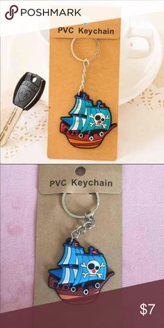Pirate ship keychain One pirate ship/pirates of the Caribbean keychain included only. Please see the second picture for the actual product you will receive. Thanks!                                                                 Bundle price: 2 for $12 Accessories Key & Card Holders