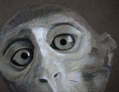 """Check out my @Behance project: """"Monkey / Tempera & Ink"""" https://www.behance.net/gallery/10789019/Monkey-Tempera-Ink"""