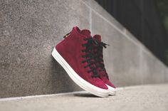 best authentic 40890 924e9 Converse Chuck Taylor All Star Hi Zip Burnished Suede