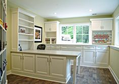 Incorporate in the laundry room/pantry