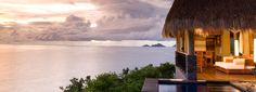 Maia Luxury Resort & Spa Seychelles is a luxury boutique hotel in Mahé, Seychelles. Book Maia Luxury Resort & Spa Seychelles on Splendia and benefit from exclusive special offers ! Seychelles Hotels, Seychelles Islands, Seychelles Africa, Villas, Porches, Decks, Bali, Inclusive Holidays, Spa Offers