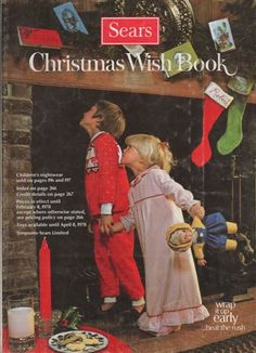 Sears Wish Book Catalog.  We each marked the items we wanted. So it truly was OUR wishlist.