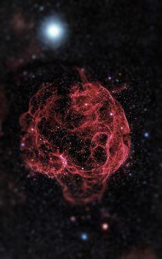 Afinal, quem não sonharia em ter uma pequena galáxia para chamar de sua? (Foto: Haari Tesla)
