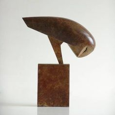 Ceramic sculpture inspired by the avian world.
