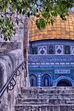 Masha Allah, such a beautiful Photo of The Dome Of The Rock . Quran Wallpaper, Islamic Wallpaper, Mecca Wallpaper, Mosque Architecture, Art And Architecture, Beautiful Mosques, Beautiful Places, Palestine Art, Palestine History