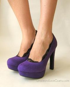 Purple Pumps YES...